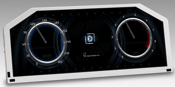 12,3-дюймовый дисплей JDI образца 2014 года