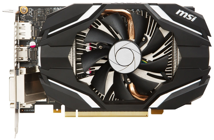 Видеокарта MSI GeForce GTX 1060 6G OC