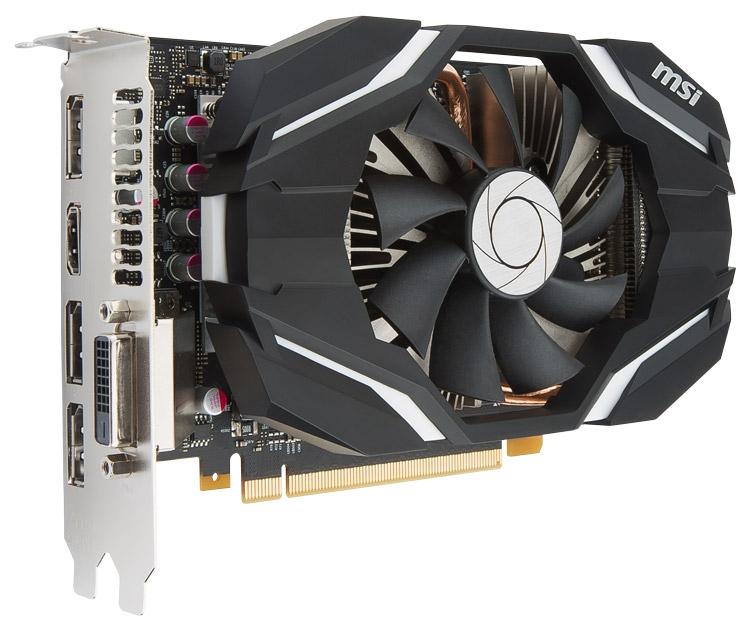Видеокарта MSI GeForce GTX 1060 6G OC