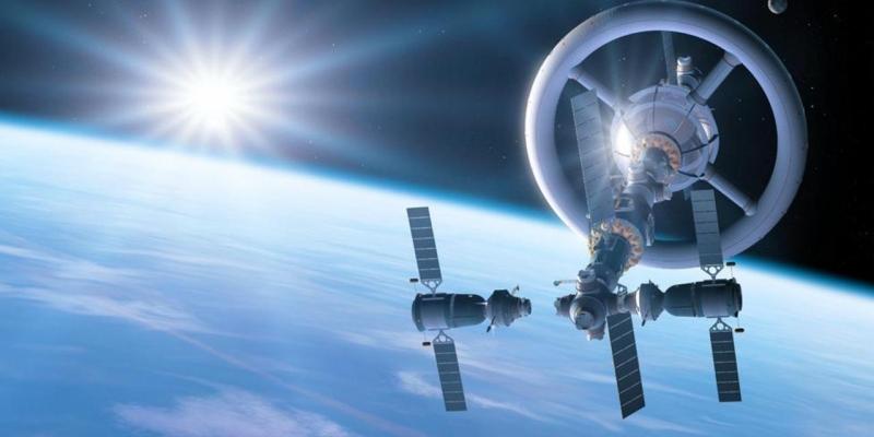 Одна из концепций коммерческой станции с искусственной гравитацией. Источник