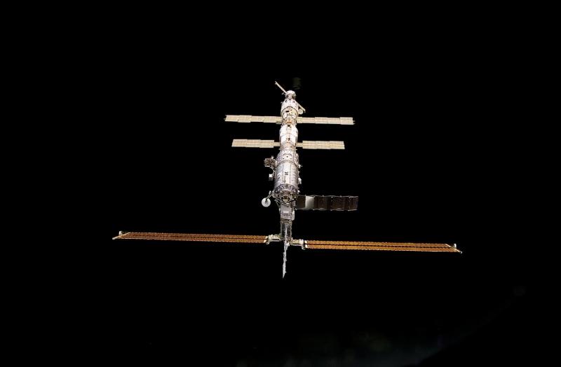 Миссия первого космического туриста чуть не поссорила основных партнёров проекта МКС – Россию и США. Фото NASA
