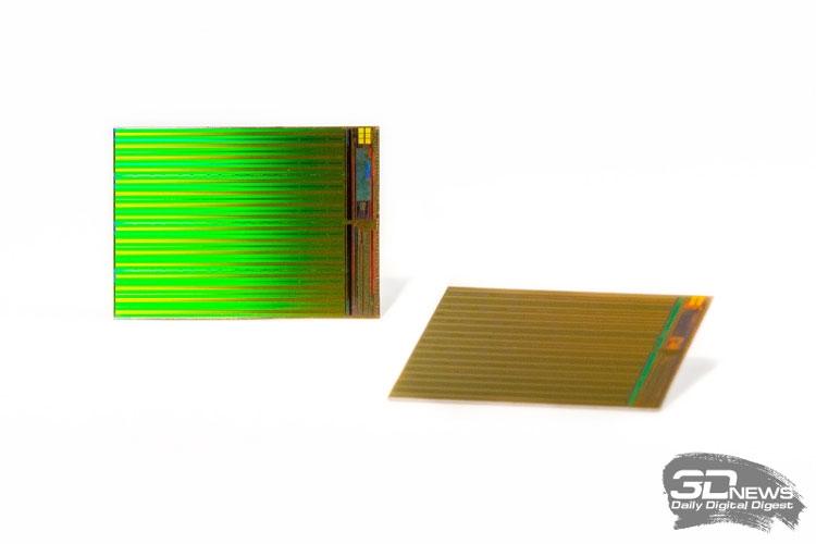 Кристаллы 32-слойной 3D NAND производства IMFT