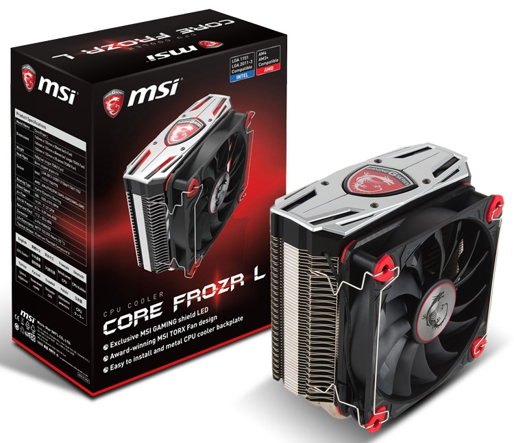 CPU-кулер MSI Core Frozr L