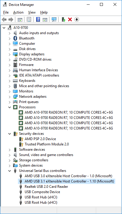Тестирование APU AMD A10-9700