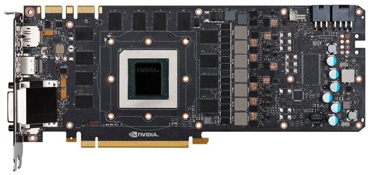 Плата видеокарты NVIDIA TITAN X