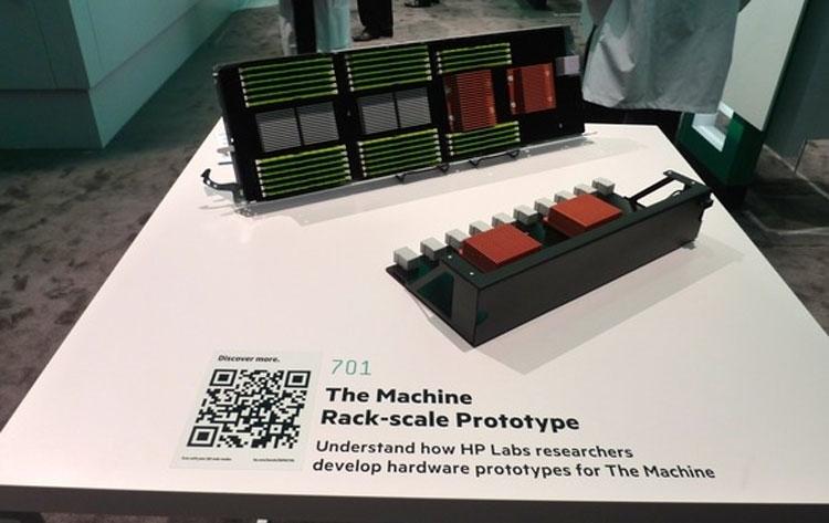 Макет принципиально нвой компьютерной платформы HP Machine (HP)