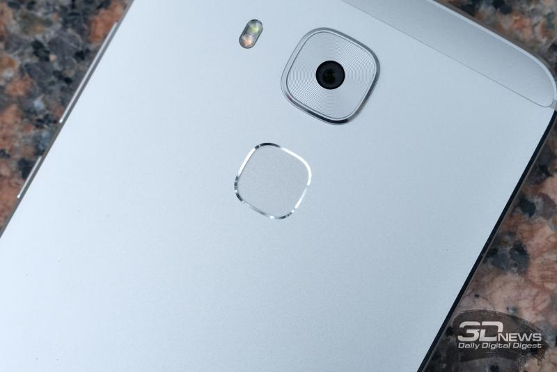 Huawei nova plus, сканер отпечатков пальцев