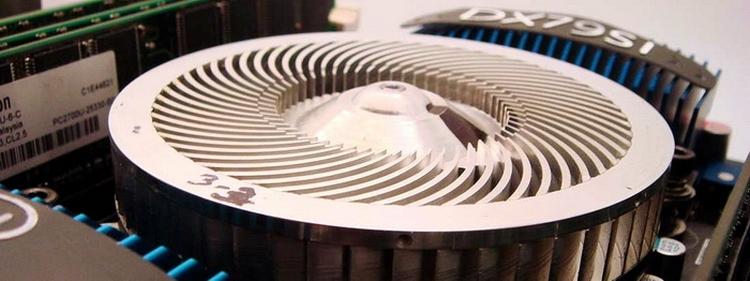 Один из первых прототипов кинетического кулера