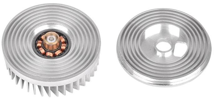Thermaltake Engine 27 действительно использует подвеску ротора с минимальным зазором