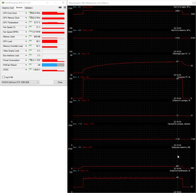 31% мощности (~1140 об/мин, х3)