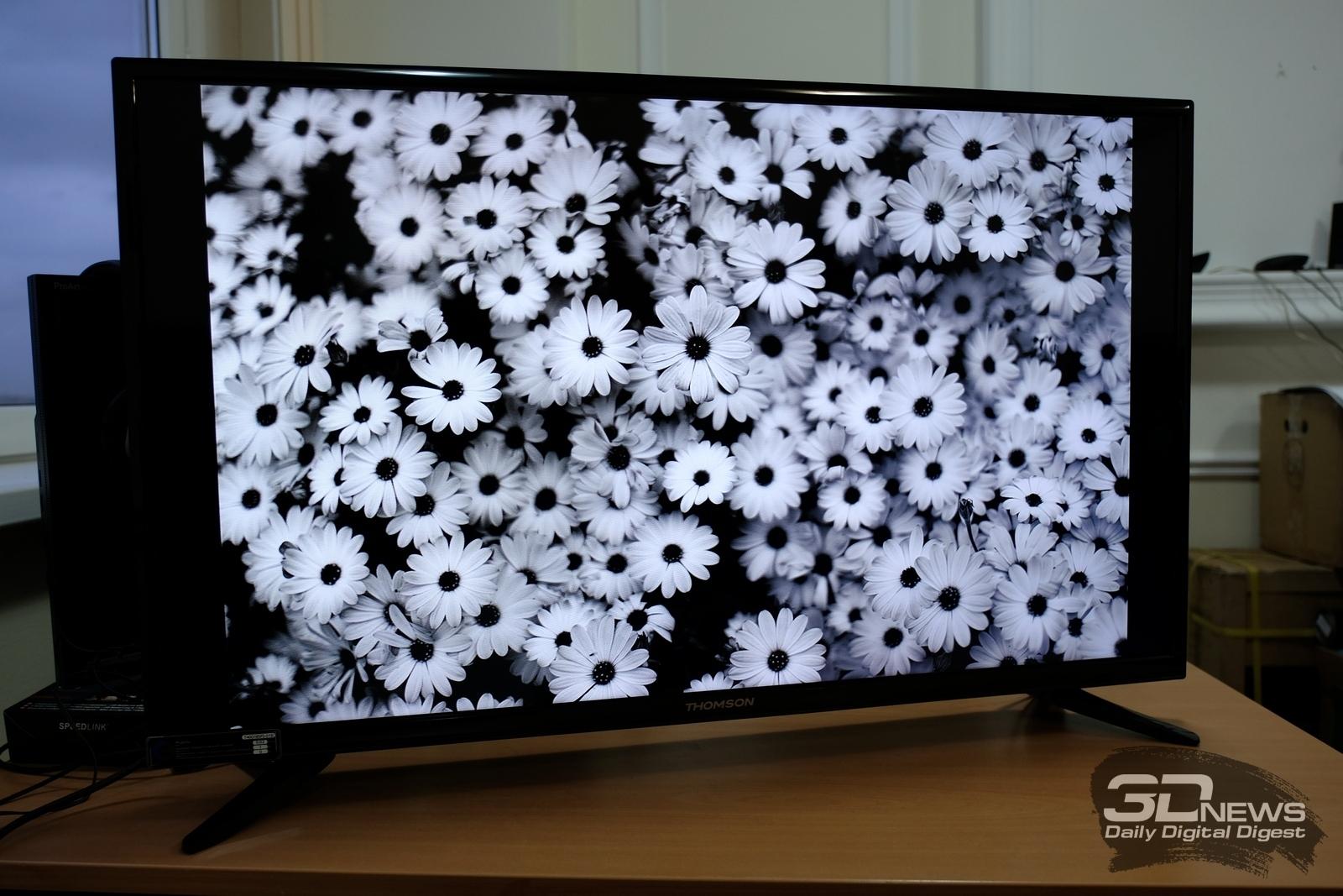как настроить смарт тв на телевизоре томсон