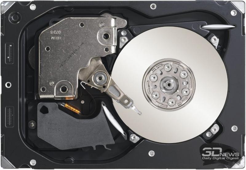 Жёсткий диск Seagate Cheetah со скоростью вращения шпинделя 15 тысяч оборото в минуту. Фото Seagate.