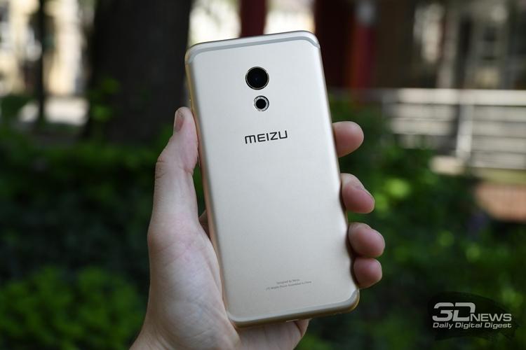 Meizu Pro 6 - вид сзади