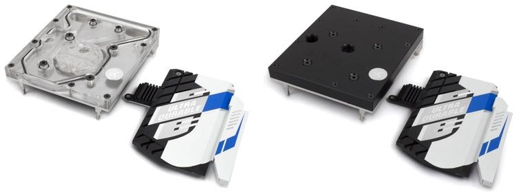 EK-FB GA X99 Designare Monoblock Nickel и Acetal+Nickel (справа)