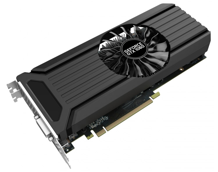 Видеокарта Palit GeForce GTX 1060 StormX 3GB