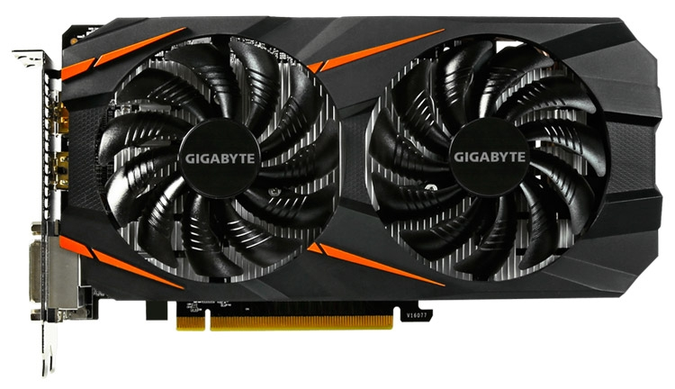 видеокарта Gigabyte GeForce GTX 1060 WindForce 3G/6G