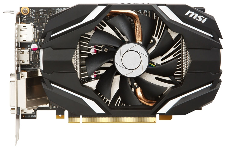 Видеокарта MSI GeForce GTX 1060 3G OC