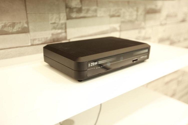 4K-приставка ZTE B806, представленная в 2014 году