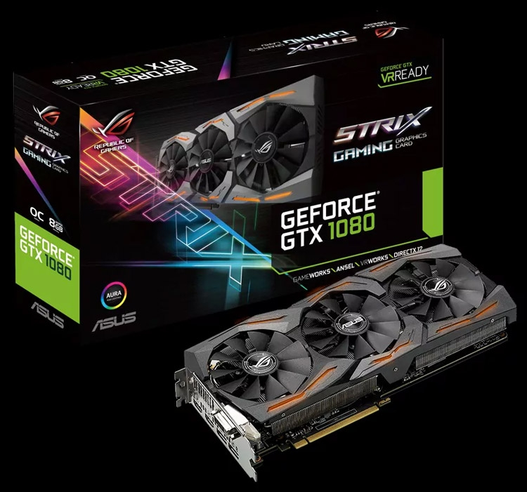 ROG Strix GeForce GTX 1080