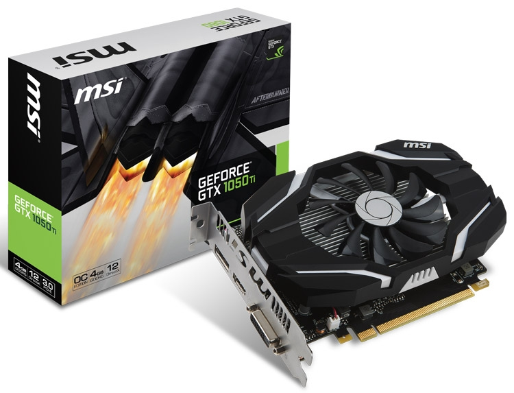 Видеокарта MSI GeForce GTX 1050/1050 Ti