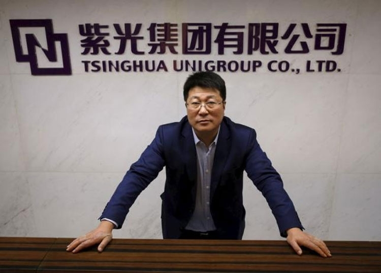 Миллиардер и президент компании Tsinghua Unigroup Жао Вейгуо (Zhao Weiguo)(uk.reuters.com)