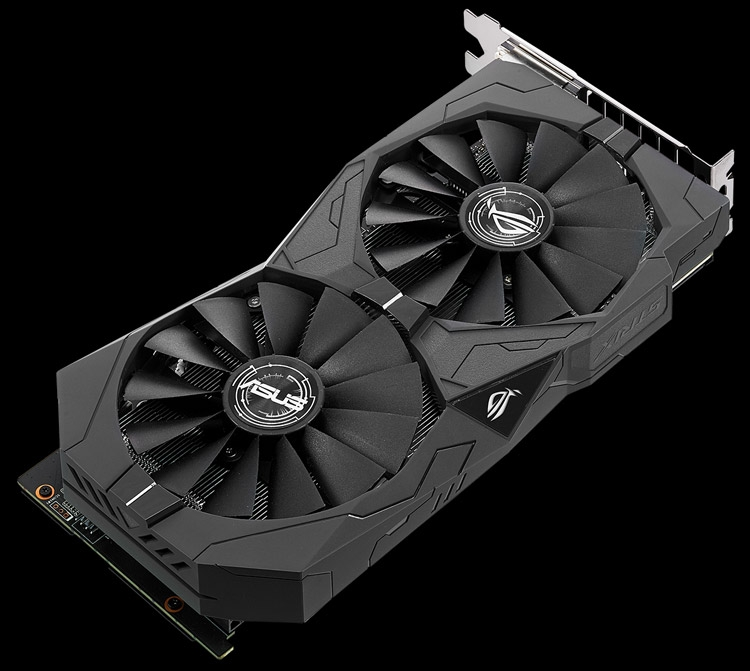 Видеокарта ASUS ROG Strix-GTX1050Ti-O4G-Gaming