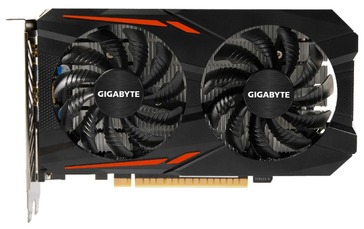 Видеокарта Gigabyte GeForce GTX 1050 Ti OC