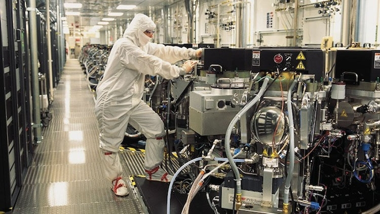 Производство чипов Samsung