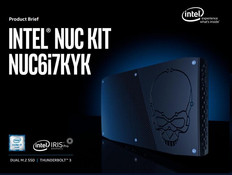 Компьютер Intel Skull Canyon