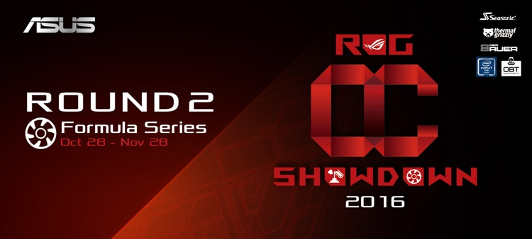 ROG OC Showdown 2016 Formula Series Round 2