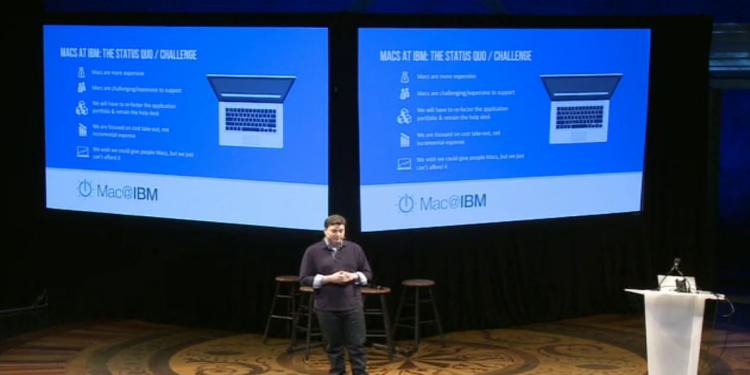 IBM рассказывает об успехах внедрения Mac