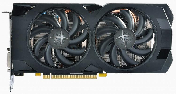 Видеокарта XFX Radeon RX 470D 4G 黑狼版 («Чёрный волк»)