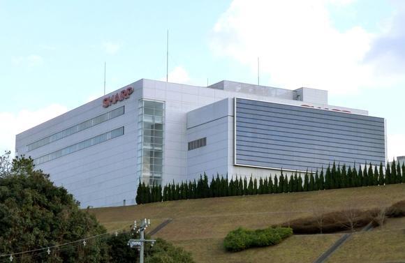 Завод Sharp в Фукуяме