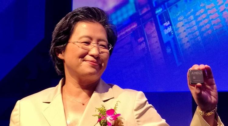 Лиза Су и процессор AMD