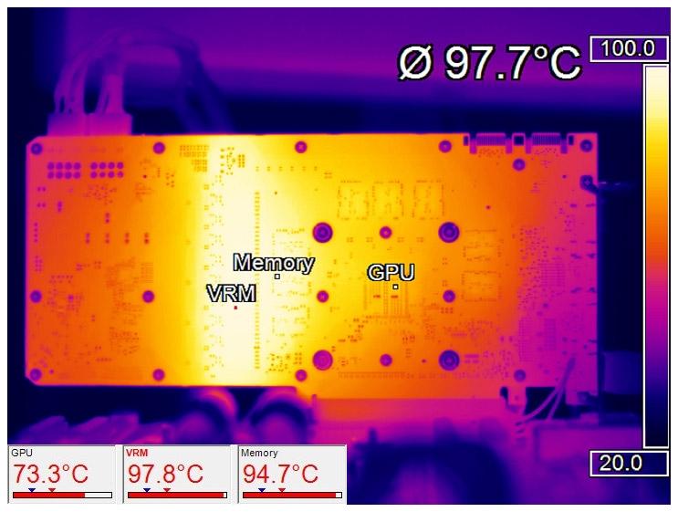 Съёмка осуществлялась тепловой камерой Optris PI 640
