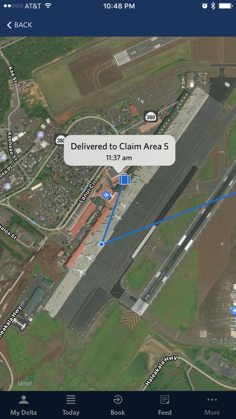 Теперь за багажом можно следить на Google-картах