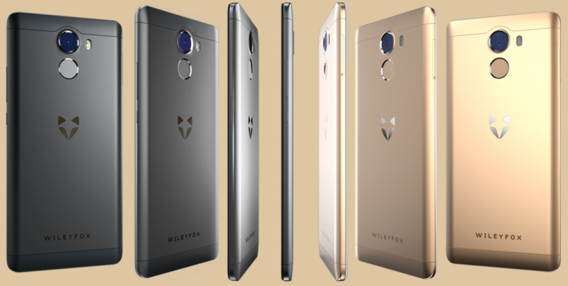 Wileyfox Swift 2 Plus – официальное изображение
