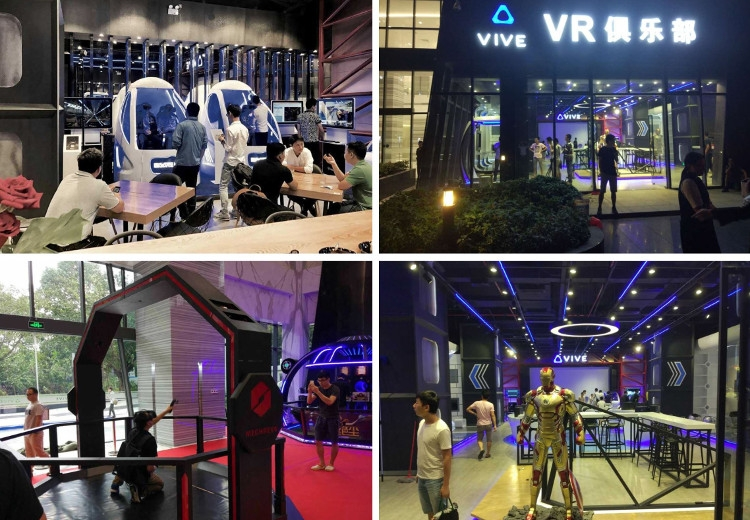 Новое VR-кафе от HTC