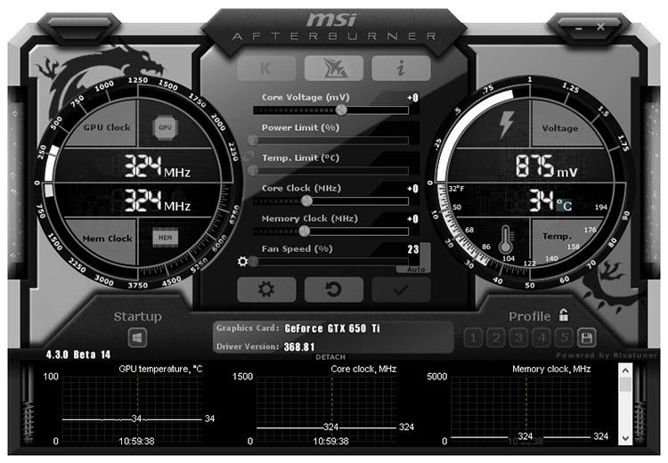 MSI Afterburner для увеличения производительности видеокарт: особенности