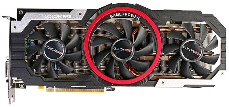 Видеокарта ColorFire Radeon RX 480 8GB Ustorm