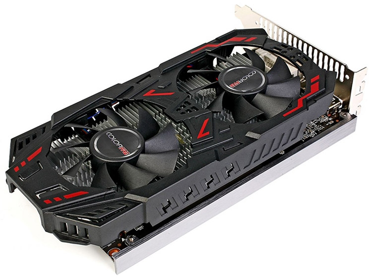 Видеокарта ColorFire Radeon RX 460 4GB