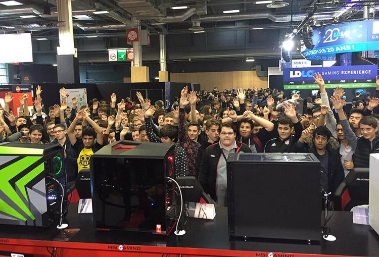 MSI на Paris Games Week (PGW)