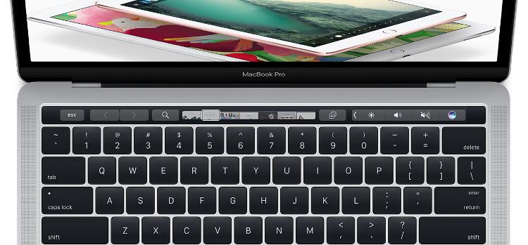 Touch Bar - особенность новых MacBook