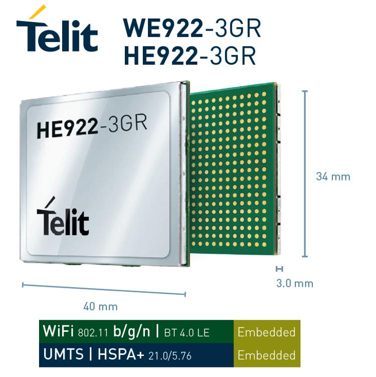 Telit HE922-3GR