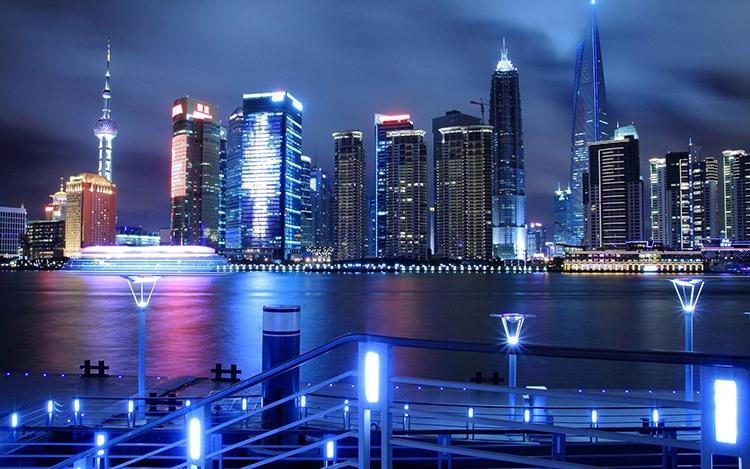 Шанхай (фото alphacoders.com)