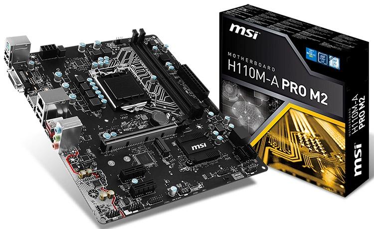 Материнская плата MSI H110M-A PRO M2