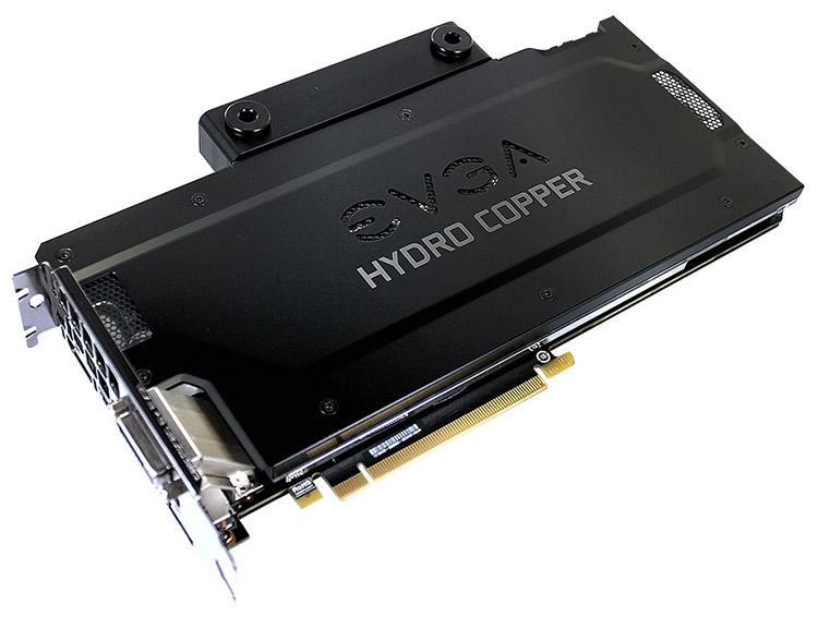 Карты EVGA GeForce GTX 1080 FTW Hydro Copper не испытывают проблем с охлаждением