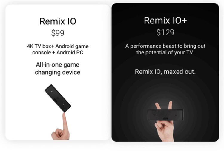 Remix IO+ представляет собой более мощную версию Remix IO