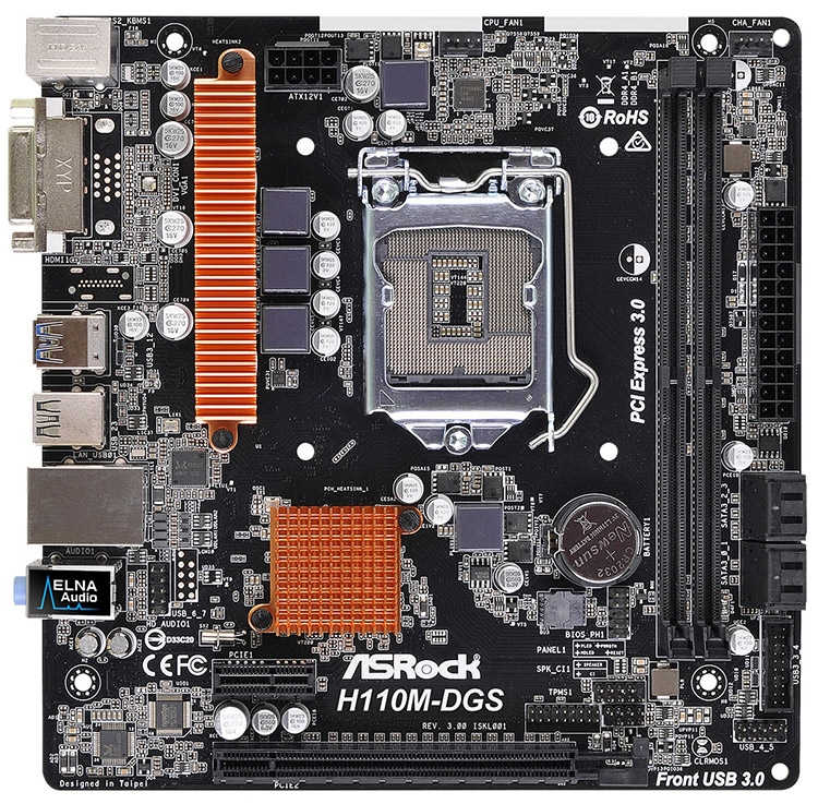 ASRock H110M-DGS R2.0 Intel USB 3.0 Driver for Mac