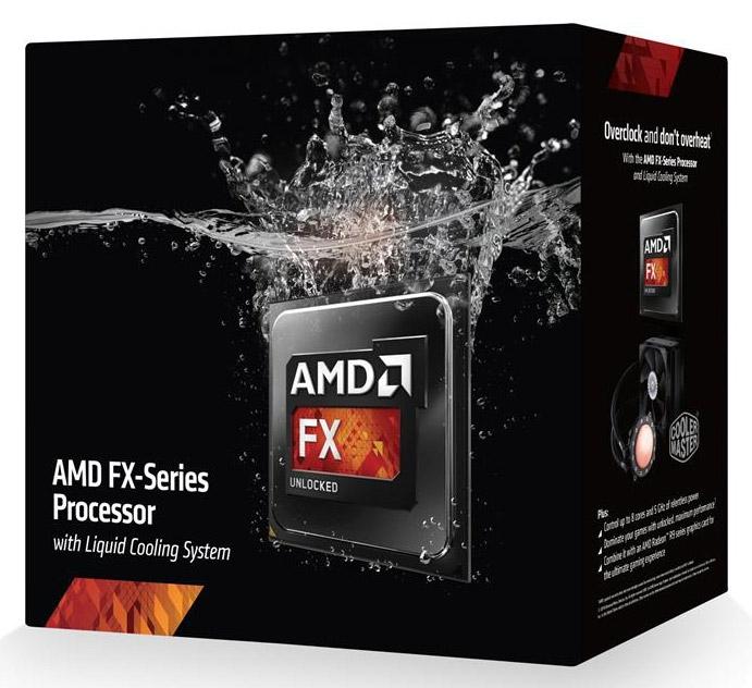 Процессор AMD FX-9590 с СЖО